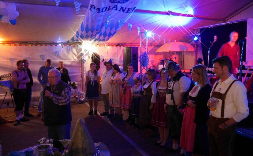 Dambroich feiert in den Oktober