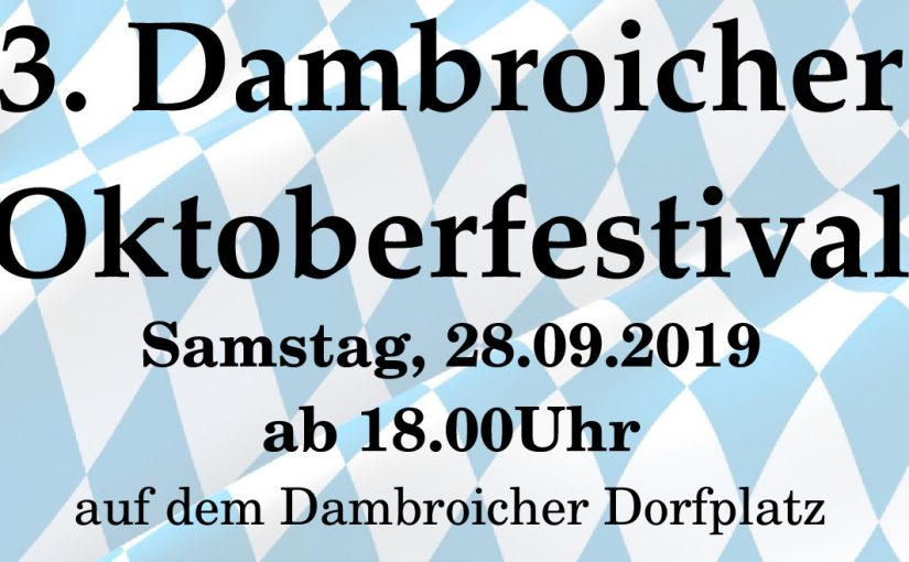 3. Dambroicher Oktoberfestival