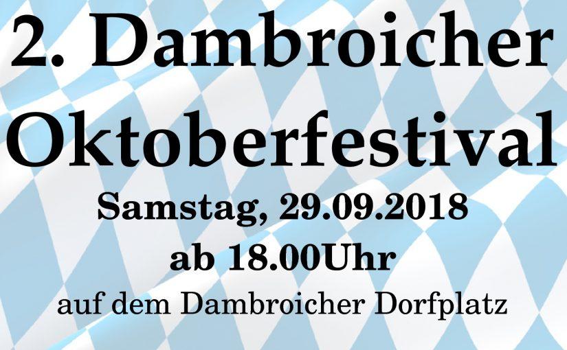2. Dambroicher Oktoberfestival