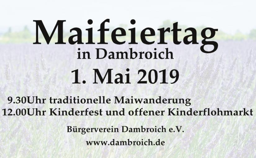 Maifeiertag in Dambroich