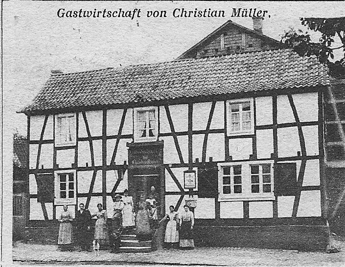 Gastwirtschaft Mueller 1901