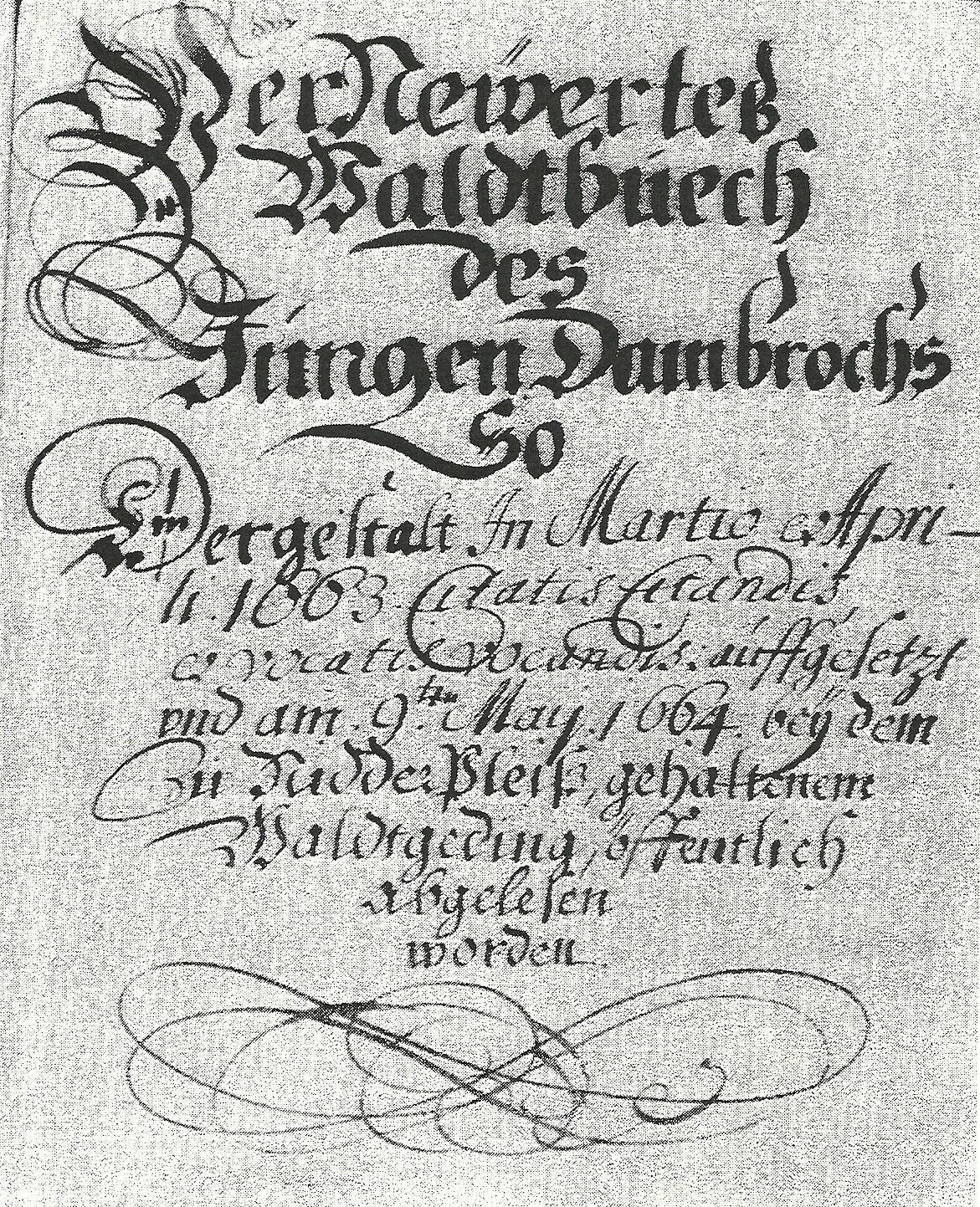 Waldtbuch_1663